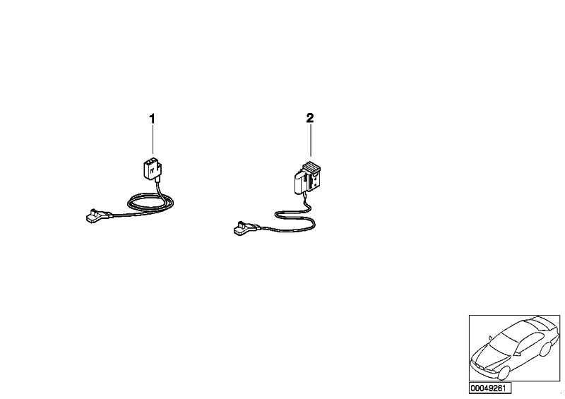 Rep.-Kabel Gurtstrammer 425 MM          5er 7er  (61138377197)