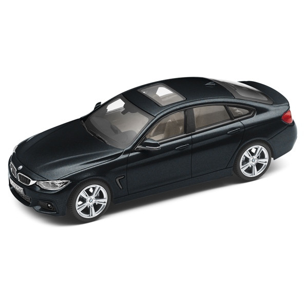 BMW 4er Gran Coupé F36 schwarz Miniatur 1:43