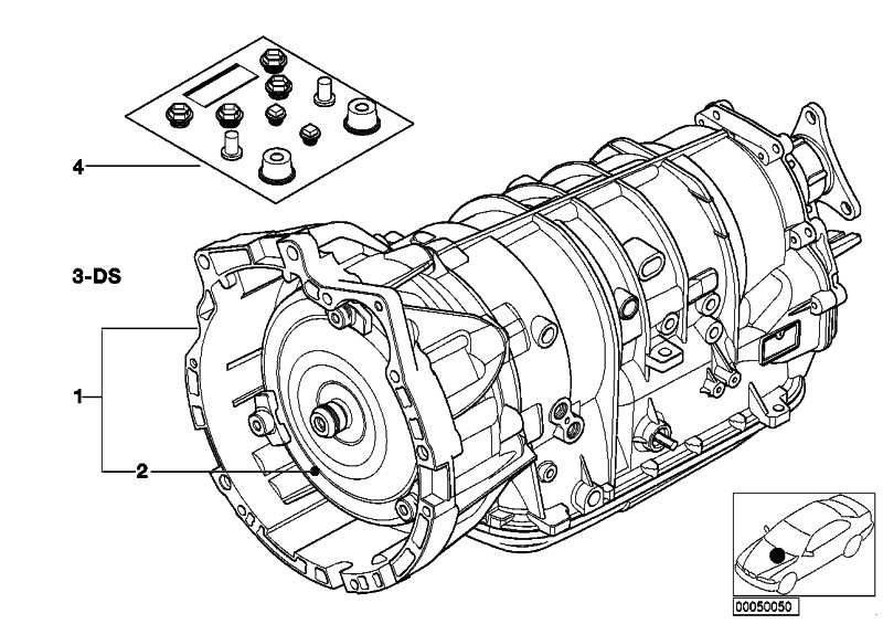 Austausch Automatikgetriebe EH A5S 390R - WG   3er 5er  (24001423897)