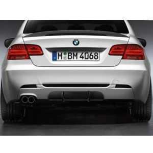 BMW Performance Blende Diffusor grundiert oben 3er E92 (335d, 335i, 335iX) E93 (335i)