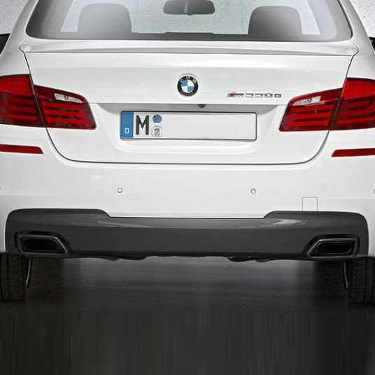 BMW M Performance Blende Stoßfänger hinten darkshadow 5er F10 F11