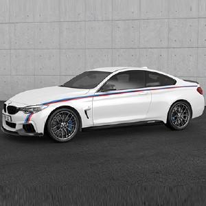 BMW M Performance Motorsportstreifen 4er F32