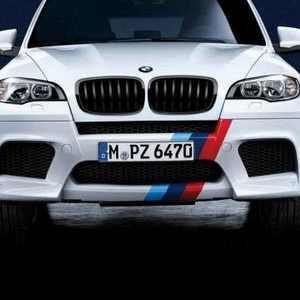 BMW M Performance Front- und Heckstreifen für X5 M E70 X6 M E71 6er M F06GC F12 F13