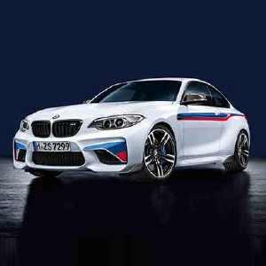 BMW M Performance Motorsportstreifen M2 F87