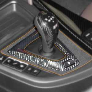 BMW M Performance Mittelkonsolenblende Gangwahlschalter Alcantara/Carbon M3 F80 M4 F82 F83