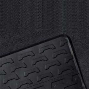 BMW Satz Gummimatten hinten, passend für 7er E65