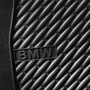 BMW Allwetter Fußmatten hinten 5er F10 F11 ab 07/2013