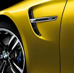 BMW M Performance Zierstäbe Seitenwand hochglanz schwarz M4 F82 F83