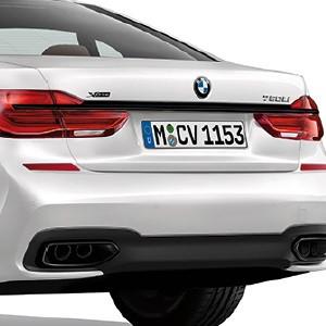 BMW M Performance Zierleiste Heck 7er G11 G12