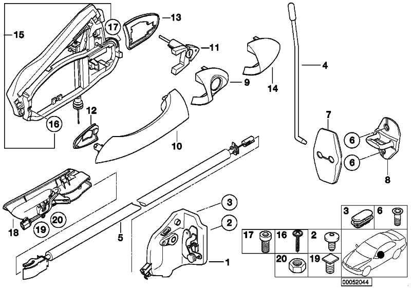 Abdeckung Schliesszylinder links SCHWARZ         X5  (51218243621)