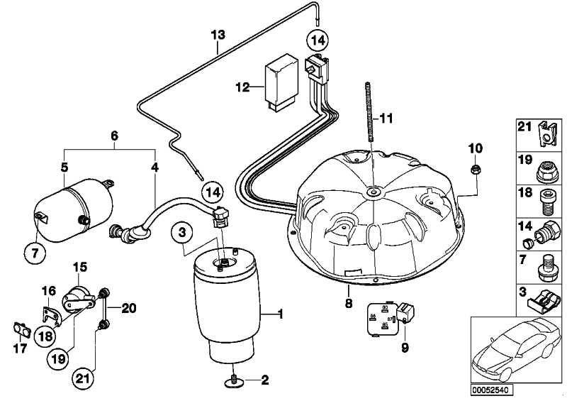 Luftbehälter mit Leitung links  5er  (37126752287)