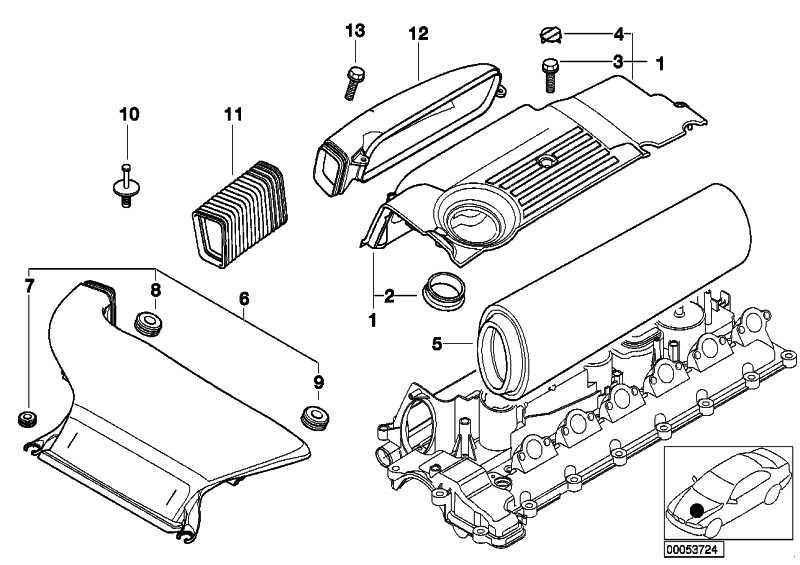 Zylinderschraube mit Scheibe M6X16-Z1 SW     3er 5er 7er  (07119901913)