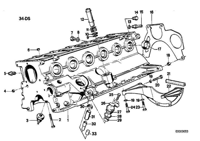 Sechskantschraube mit Scheibe M8X50-Z3 3er 5er 7er 8er X5 Z1 Z3  (07119912980)