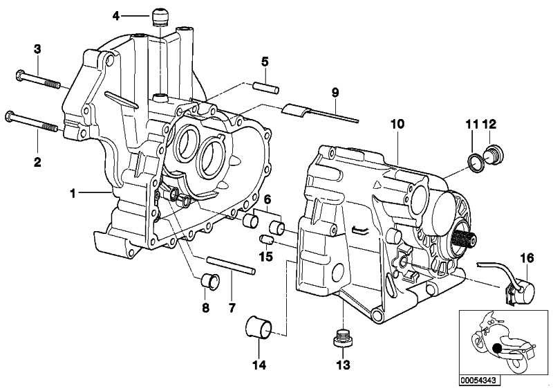 Verschlussschraube Magnet M26X1,5          (11132330145)