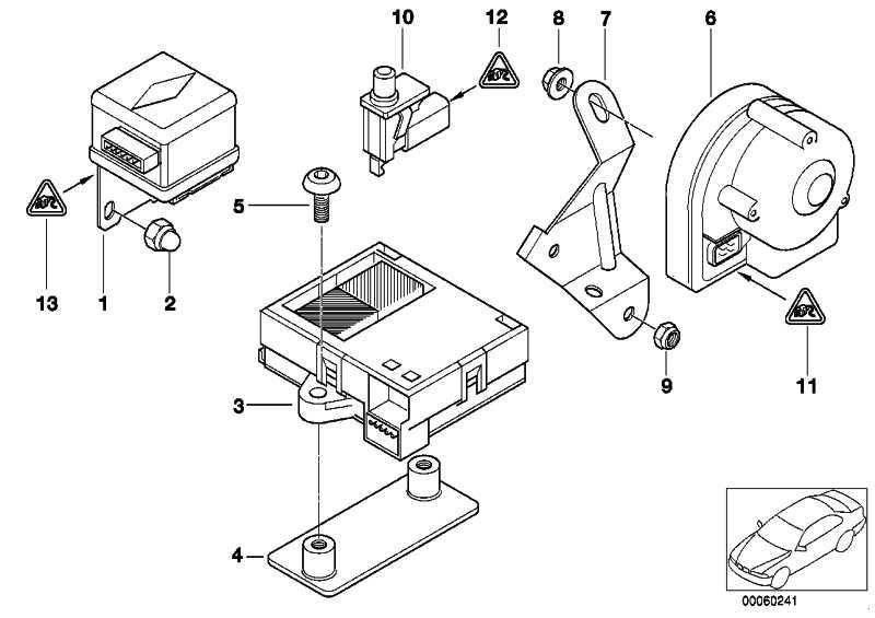 Ultraschall-Modul  3er 5er 7er  (65756938048)