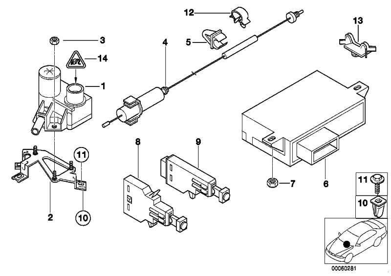Universal-Buchsengehäuse uncodiert 8 POL. 5er 6er 7er X5 X6 MINI  (61138364624)