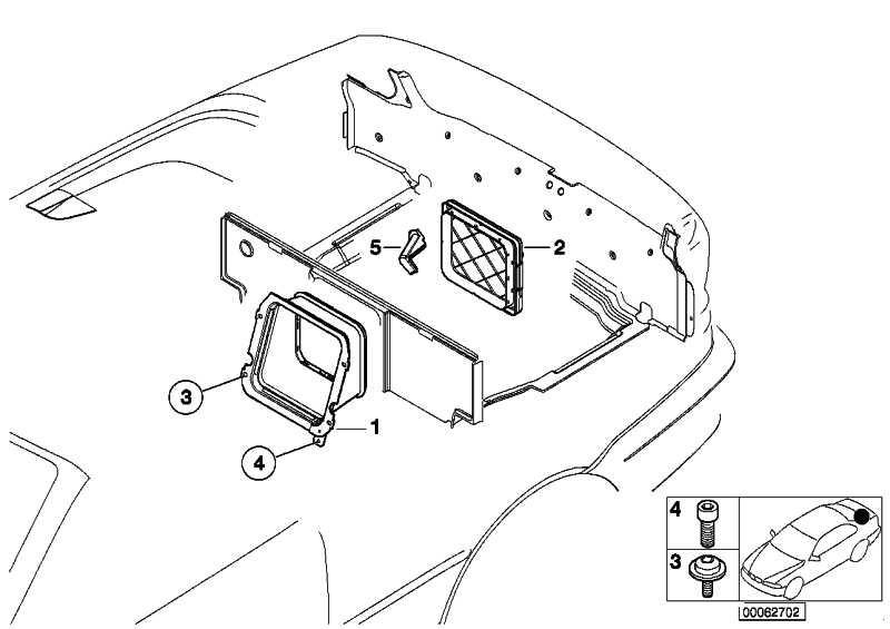 Cassette Subwoofer  3er  (72608268954)