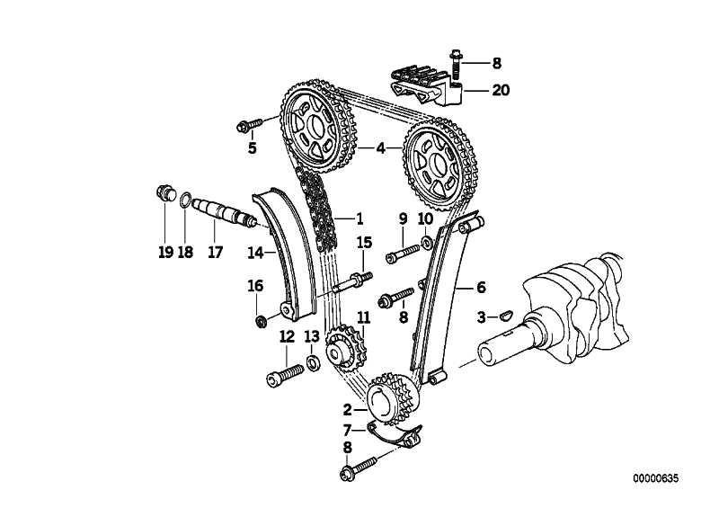 Kettenspanner  3er Z3  (11311743187)
