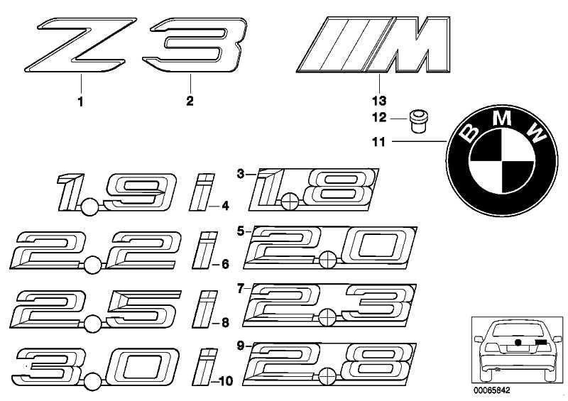 Emblem 3.0             Z3  (51148413710)