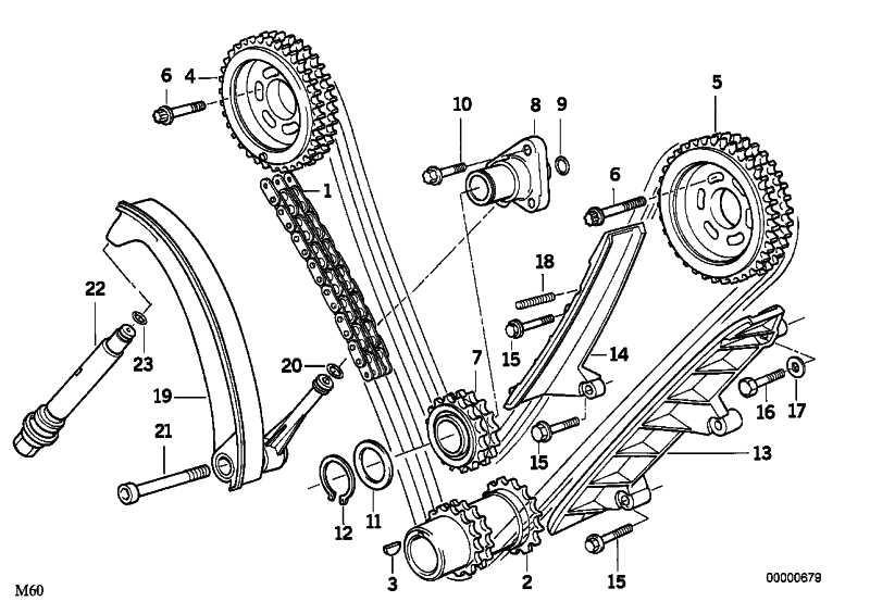 Kettenrad Einlass ZYL.1-4         5er 7er 8er  (11311736163)