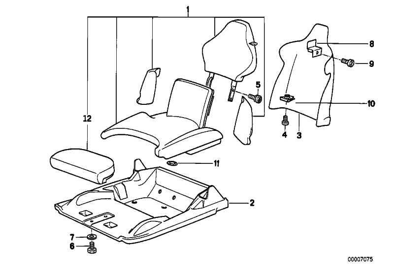 Rückwand Sitz CODE-UNI        Z1  (52109065547)