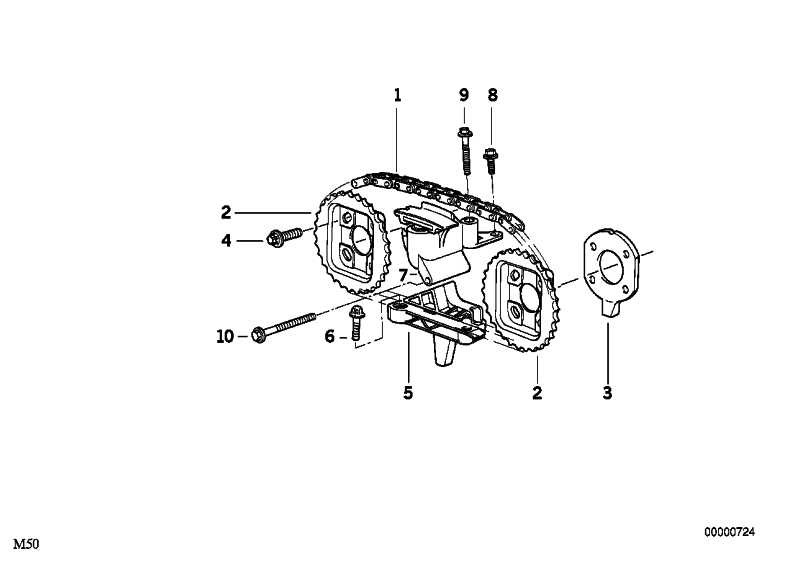 Kettenspanner  3er 5er 7er X3 X5 Z3 Z4  (11311738700)