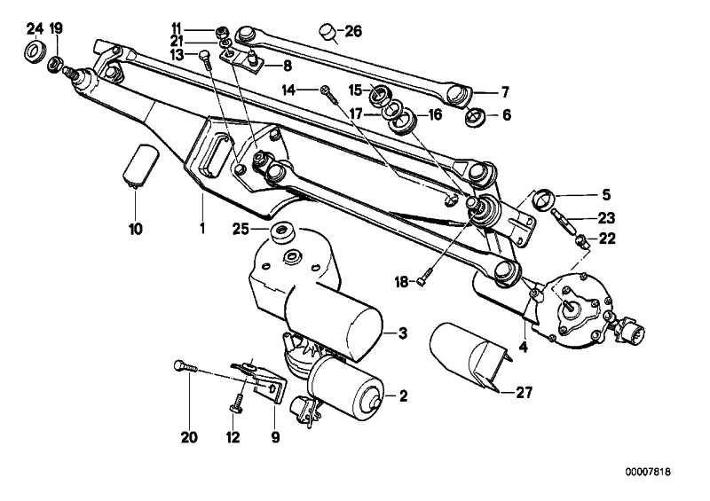Antriebsstange  5er  (61611384116)