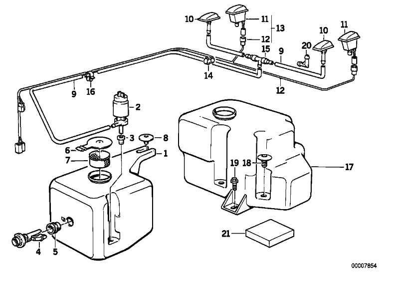 Flüssigkeitsbehälter  3er  (61661385280)