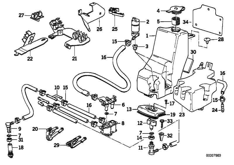 Pumpe Scheinwerfer  5er 7er  (61671382085)