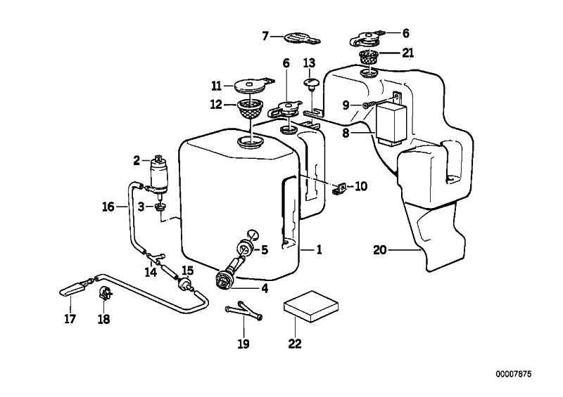 Flüssigkeitsbehälter  3er  (61671381709)