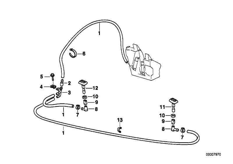 Verbindungsstück  3er 7er X5 MINI  (61668360181)