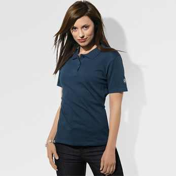 BMW Damen Poloshirt dunkelblau