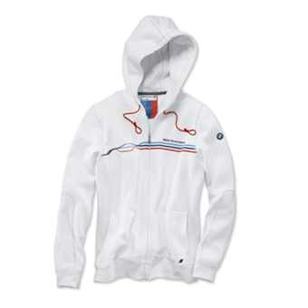 BMW Motorsport Sweatjacke Damen weiß