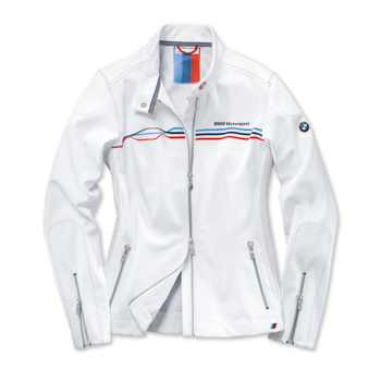 BMW Motorsport Softshelljacke Damen weiß