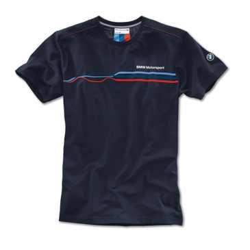 BMW Motorsport Fashion T-Shirt Herren blau