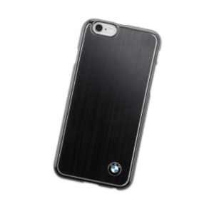 BMW Handy-Hartschale Aluminium schwarz Samsung Galaxy S6