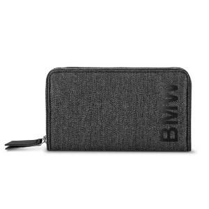 BMW Geldbörse anthrazit / schwarz