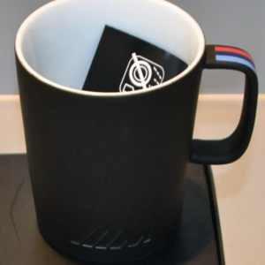 BMW M Tasse schwarz matt