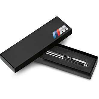 BMW M Tintenroller chrom/carbon
