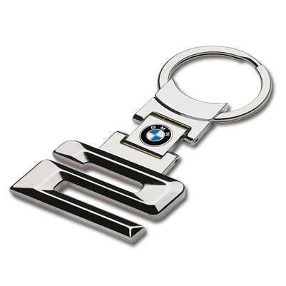 BMW Schlüsselanhänger 2er silber