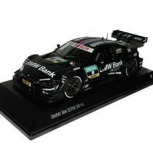 BMW M4 Bruno Spengler DTM 2014 schwarz Miniatur 1:18