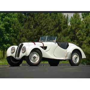 BMW 328 Roadster Heritage Collection Miniatur 1:18 beige