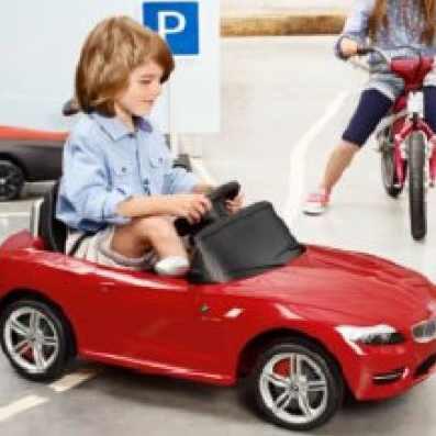 BMW Z4 Ride On (Elektroversion) rot