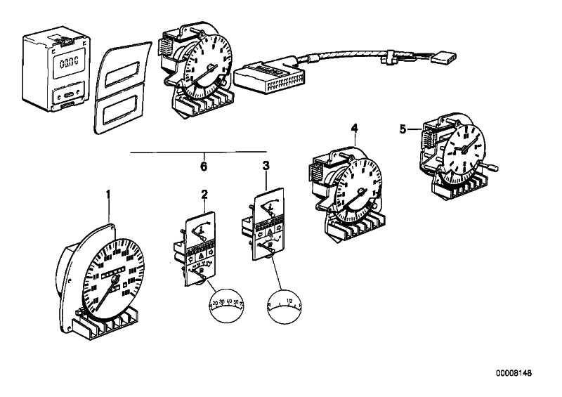 Kombi-Instrument 70L             5er 6er  (62131376643)