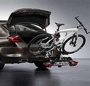 BMW Fahrradheckträger Pro für Fahrzeuge ohne Anhängevorrichtung 3er E90 E91 E92 F30 F31 5er F07 F10 F11 6er F06 F12 F13 X3 F25 Z4 E89