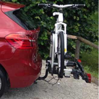 BMW Fahrradheckträger für Anhängerkupplung 2er F45 F46 X1 F48