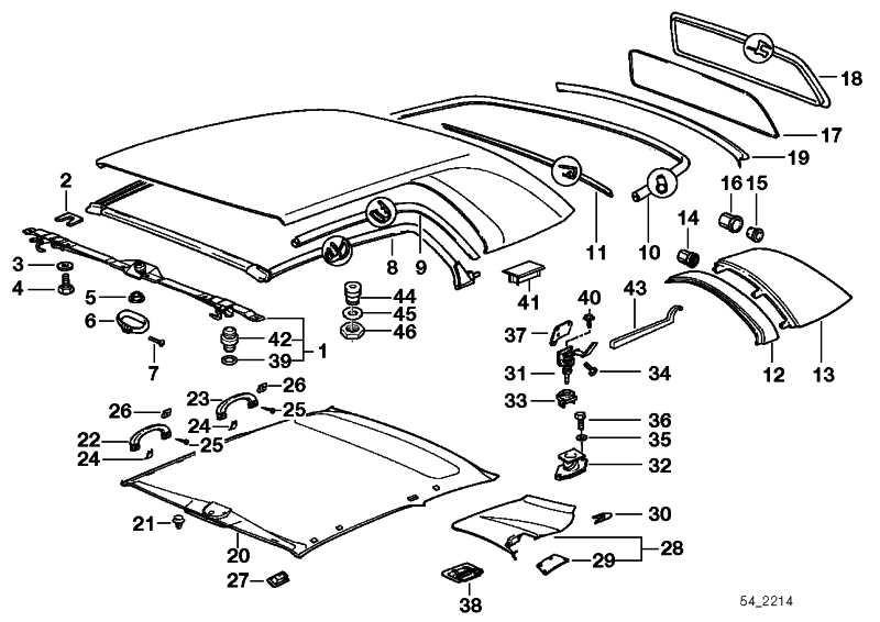 Kantenschutz hinten  3er  (54218165013)