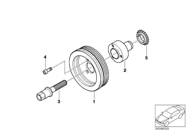 Schwingungsdämpfer  1er 3er X3 Z4  (11237505829)