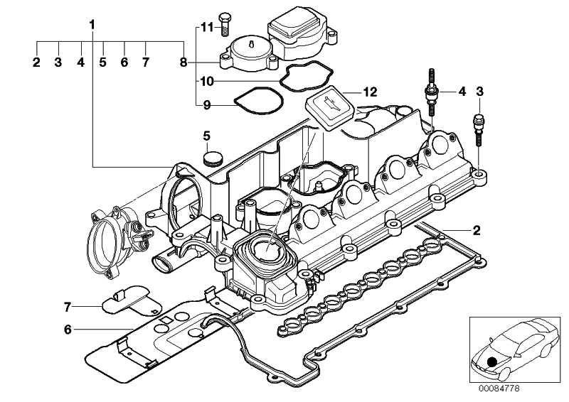 Zylinderkopfhaube  3er 5er  (11122249680)