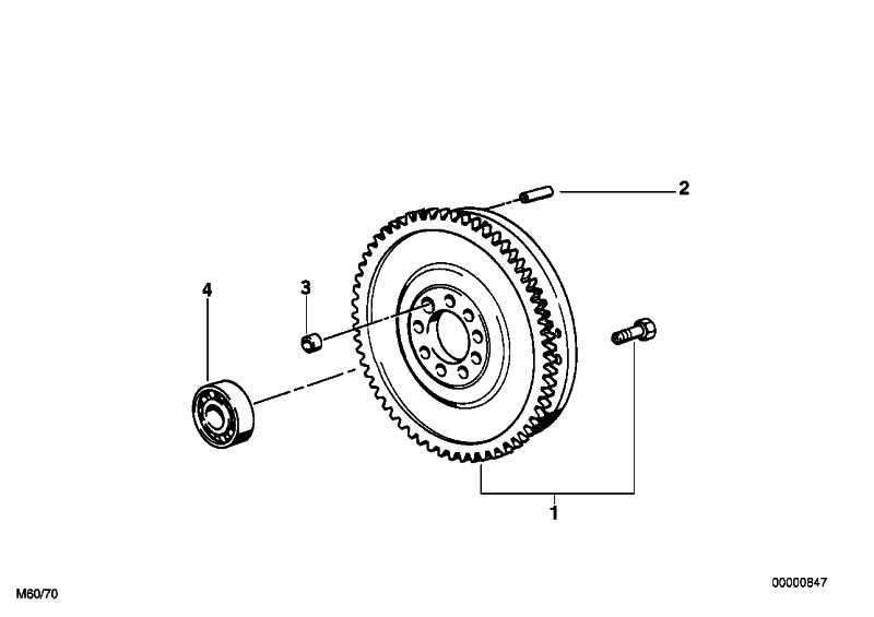 Zweimassenschwungrad  5er  (21212229190)